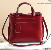Genuine leather women's handbag 2014 fashion handbag fashion shoulder bag messenger bag vintage cowhide bag