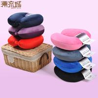 U pillow super soft cervical pillow nap pillow health care pillow particle foam pillow care single