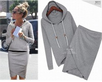 Autumn -summer women baseball jacket casual sweater skirt suits sport sweatshirt shorts tracksuits animal hoodies dress suit