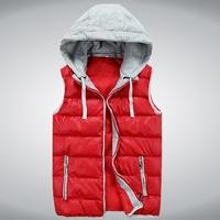 2014 new autumn and winter down cotton vest Korean version Slim stylish casual tidal male vest