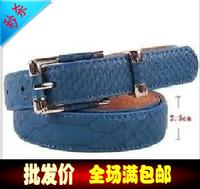Thin all-match decoration genuine leather belt strap women's fashion free shipping