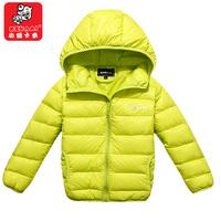 free shipping 2014 child down coat male female child short design baby liner children's clothing child