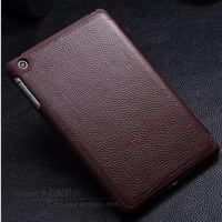 Luxury Business Style Genuine leather full Protective Case for apple ipad mini real leather case