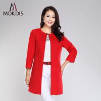 2014 autumn and winter woolen overcoat female fashion medium-long woolen outerwear overcoat woolen outerwear