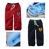Hot Sale! New 2014 Children Pants Girls Boys Sport Full Length Pants Boys Winter Pants Baby Trousers Kids Casual Pants