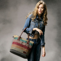 Dhh new arrival canvas bag women's handbag 2014 handbag messenger bag shoulder bag