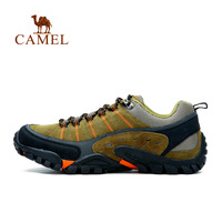 Camel 2014 male low lacing suede  breathable outdoor mountain shoes