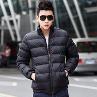2014 men's winter clothing outerwear slim cotton-padded jacket male berber fleece thickening wadded jacket