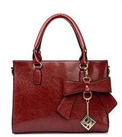 Hot Sale 2014 Fashion Women Handbag PU Leather Messenger Bags Shoulder Bag