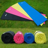 Free shipping Ultra small size and lightweight waterproof single automatic inflatable mattress /Camping mats