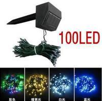 100LED solar string lights holiday lights solar neon holiday lights LED string lights