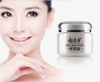 free shipping fresh milk 110g vitamin nourishing moisturizing anti-aging anti-dry whitening face day cream skin care winter