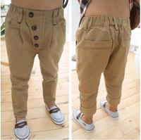 2014 Hot New Casual Pants For Children Boys Pants Korean Version Of Casual Cotton Harem Kids Pants 1pcs Free Shipping