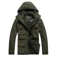 Outdoor clothing   men's fleece clothing outdoor jacket wadded jacket cotton-padded jacket