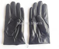 Pu leather gloves warm gloves fit men women