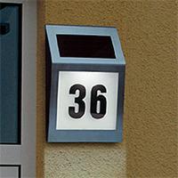 Solar house number light solar door light LED Outdoor Lights Solar Lighting a generation of fat