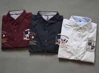 Male shirt spring and autumn long-sleeve shirt male casual top embroidered copy button men's clothing end of a single