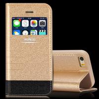 Premium PU Leather Folio Flip Design Fully Protective case for iPhone 5 5S  Branding case
