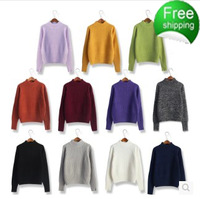 autumn and winter sweater basic slim thickening sweater