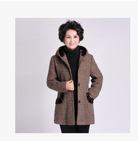 new 2014 women coat autumn outerwear middle-age women mother clothing outerwear winter outerwear wool coat