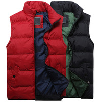 Spring autumn new fashion men's vest casual waistcoat for men 4 colors