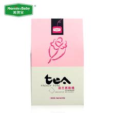 French rose tea, 30g/box (15 small bags x 2g), free shipping(China (Mainland))