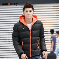 Bongewolf 2014 male winter wadded jacket cotton-padded jacket outerwear teenage thickening thermal cotton-padded jacket plus