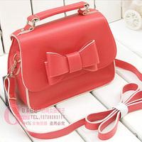 Bodan bow sweet candy color women's handbagS small bag cross-body shoulder bag
