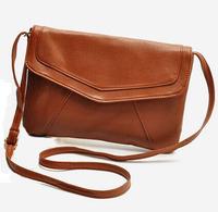 Womens leather envelope shoulder bags ladies small vintage handbags tassel crossbody sling messenger bag 2014 designer satchels