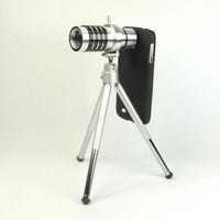 Superacids i9500 mobile phone accessories i9500 lens 12 12x s4 telescope telephoto