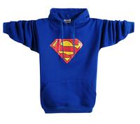 Men's clothing with a hood sweatshirt super man shirt pocket hat hiphop male plus size plus size sweatshirt outerwear