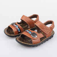 3-6 2014 new arrival boy child sandals genuine cowhide leather sandals baby boy shoes little boy sandal sumer footwear kid boy