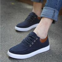 Spring and autumn male men's breathable sneaker elevator shoes fashion plate shoes