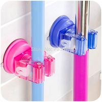 Seamless suction cup mop frame besmirchers rack door after rack mop deck