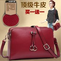 One shoulder cross-body women's handbag 2014 genuine leather fashion vintage women's small bag cowhide female bags