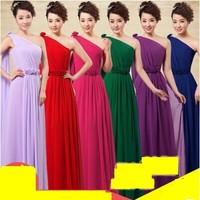 12 colors long design and sisters dress bridesmaid dress HL1409262