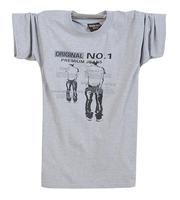 Summer short-sleeve T-shirt 100% male cotton casual t-shirt men's clothing plus size plus size short-sleeve t shirt