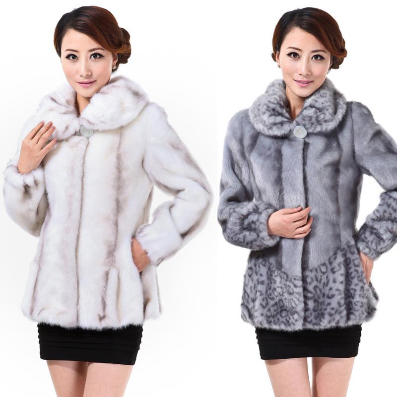 Женская одежда из меха L  L-0139