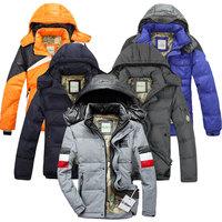 2014 winter men's fashion men's jackets brand down jacket big yards long sleeve men's warm jacket