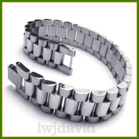 Wholesale A18923 plaid titanium male bracelet fashion men's coarse korea bracelet birthday gift
