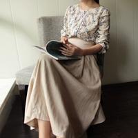 RO&JAY 2014 solid color linen full female bust skirt summer Skirts fairy women winter expansion bottom sheds long skirts