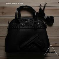 Gagaopt vlieger vandam New Women And Men Gun Bags Women Handbag 3D Cartoon Pistol Bags  Pistol Bag PU Leather Shoulder Handbags