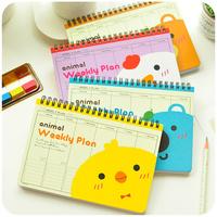 Korean Stationery Agenda Planner  Weekly Planning Schedule Notebooks