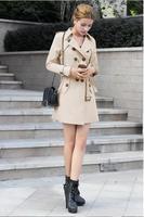 Europe 2014 new winter coat women's European and American fashion Slim yards windbreaker coat