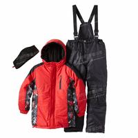 2014 HOT Winter child ski suit boys grils set male child outdoor jacket bib pants child set