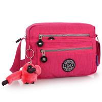 Women's handbag fashionable casual shoulder bag waterproof nylon cloth messenger bag small bag light