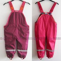 Rain pants hiking pants sportswear bib pants male female child trousers four seasons of paragraphski suit  windproof waterproof