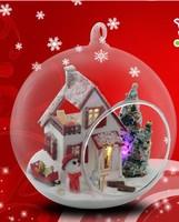 Christmas gift  DIY glass house model