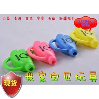 Whistle child night market plastic toy gift small pattern