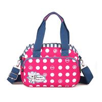 Bags 2014 cross-body one shoulder canvas bag light portable nylon cross-body bag multi-colored women's handbag oxford fabric